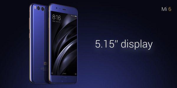 Xiaomi Mi6 display