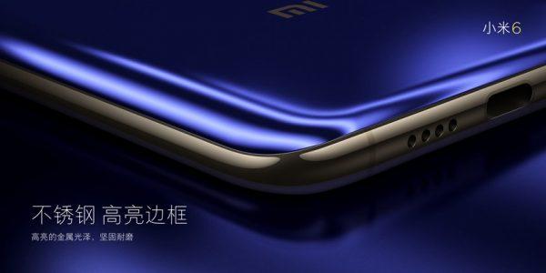 Xiaomi Mi6 edges