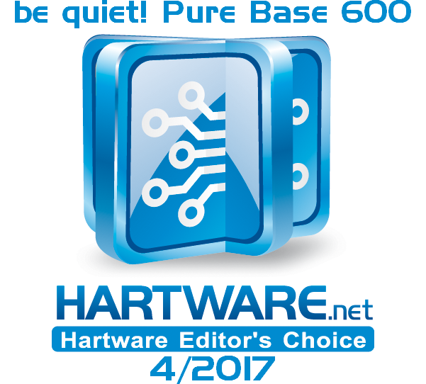 be quiet! Pure Base 600 Award