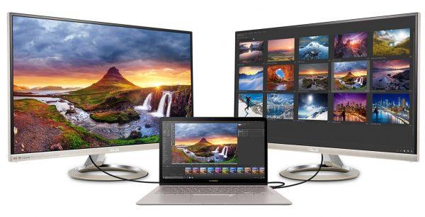 ASUS Zenbook 3 Deluxe Dual-Monitor