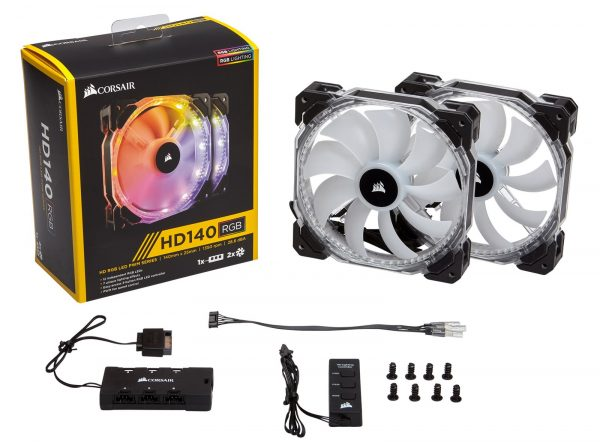 Corsair HD140 RGB Set