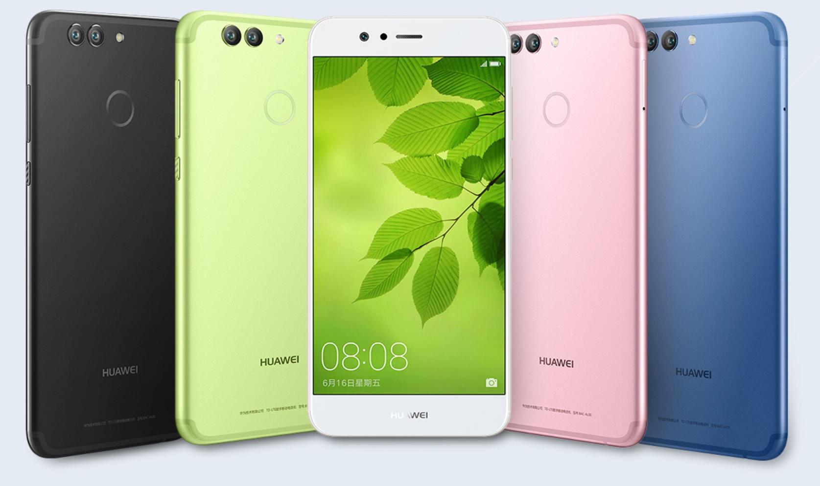 Huawei stellt nova 2 und nova 2 Plus vor