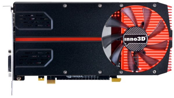 Inno3D GeForce GTX 1050 Ti (1-Slot Edition) Front