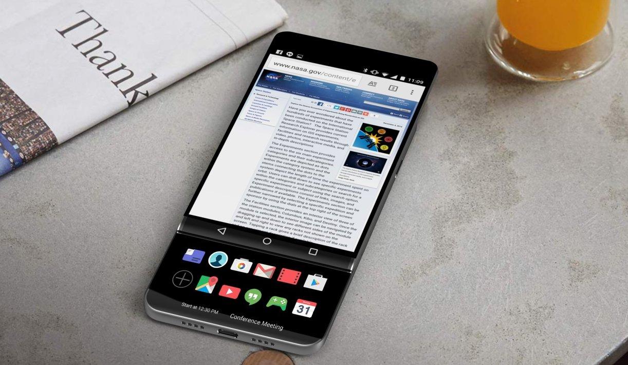 lg v30 slider smartphone mit zwei bildschirmen taucht auf. Black Bedroom Furniture Sets. Home Design Ideas