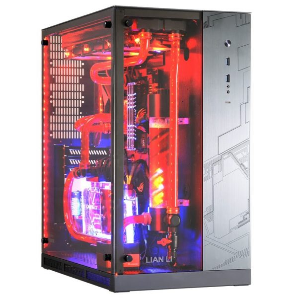 Lian Li PC-O11WGX LED Front