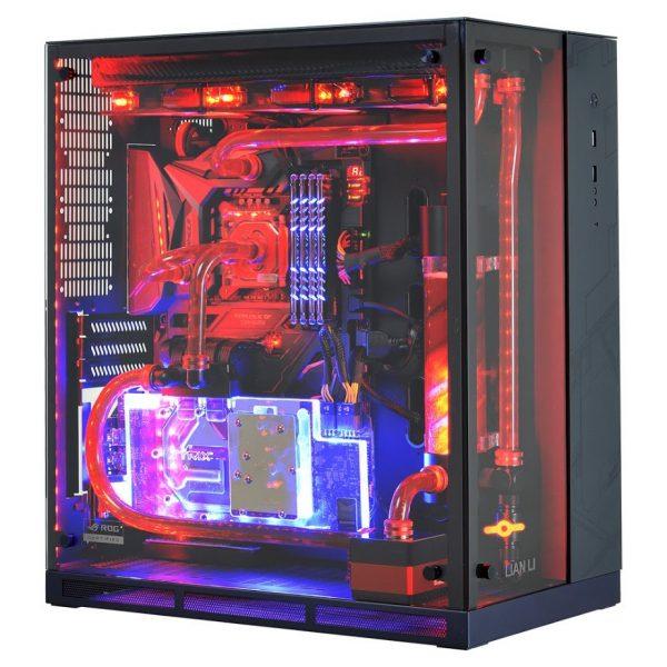Lian Li PC-O11WGX LED Seite
