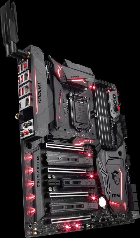 MSI Z270 GODLIKE GAMING Red