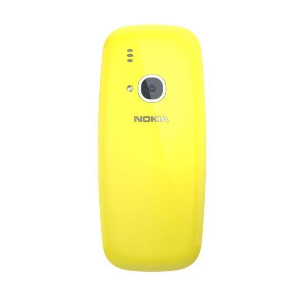 Nokia 3310 Gelb Hinten
