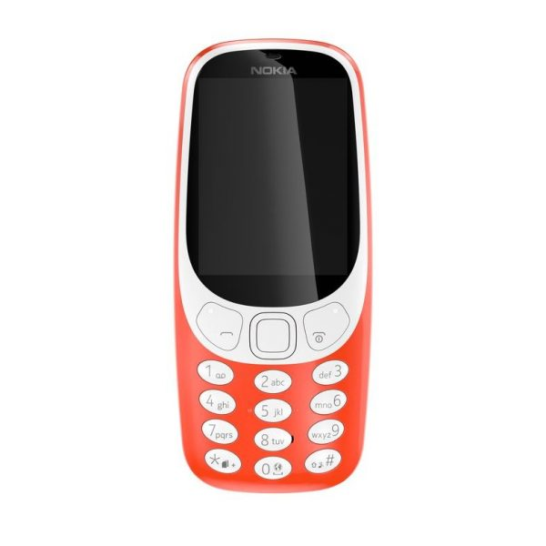 Nokia 3310 Rot Front