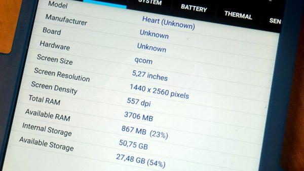 Nokia 9 Systeminfo