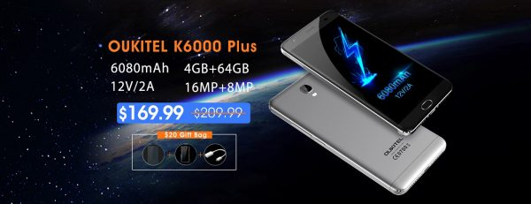 Oukitel K6000 Plus Offer