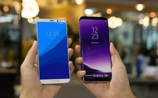 UMIDIGI Crystal vs Samsung Galaxy S8+
