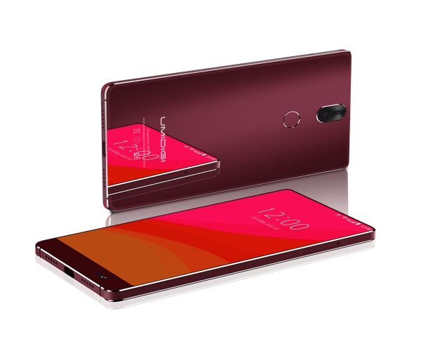 UMIDIGI CRYSTAL red