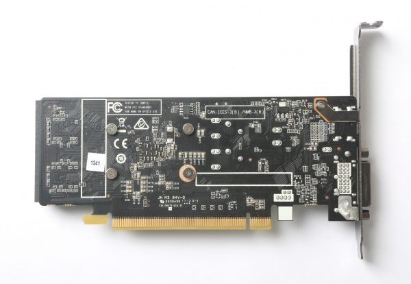 Zotac GeForce GT 1030 Back