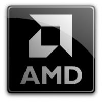 AMD Logo Schwarz