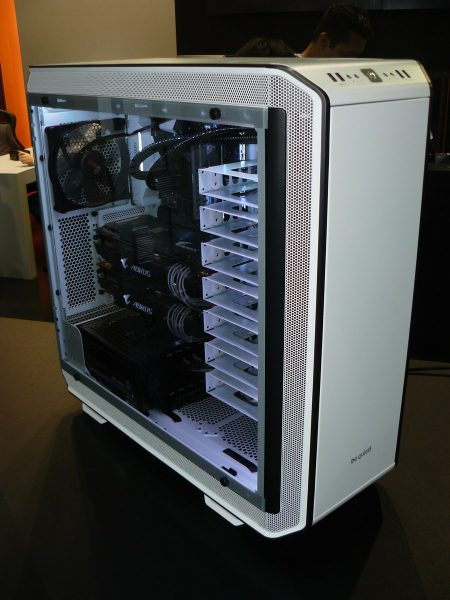 be quiet! Dark Base Pro 900 White Edition Front