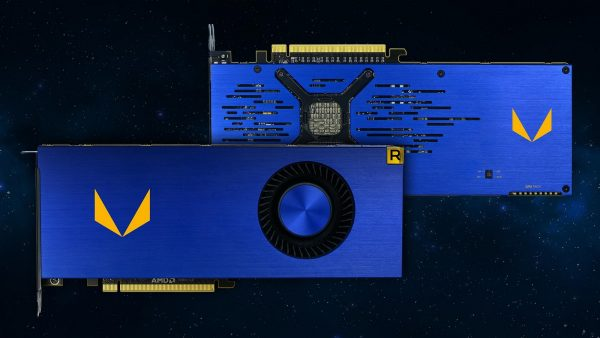 AMD Radeon Vega Frontier Edition front and back