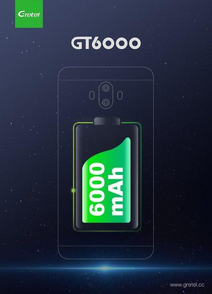GRETEL GT6000 battery