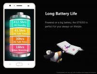 Gretel GT6000 battery life data