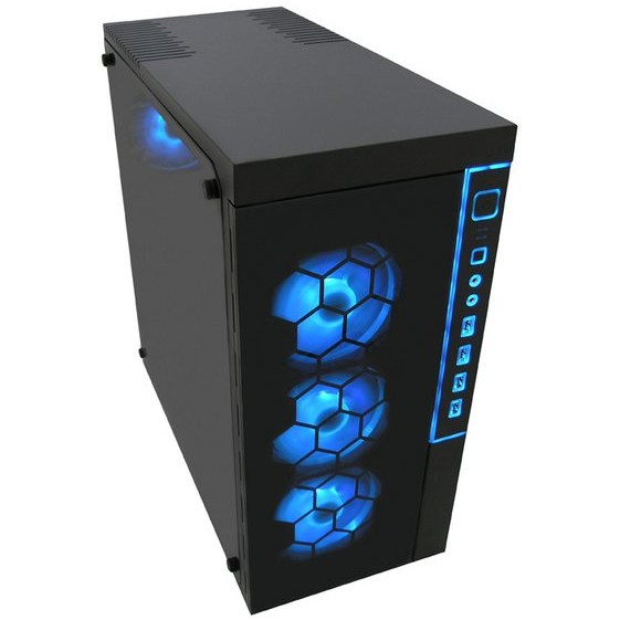 LC-Power Gaming 991B Blau oben