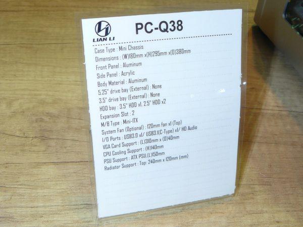 Lian Li PC-Q38 Daten