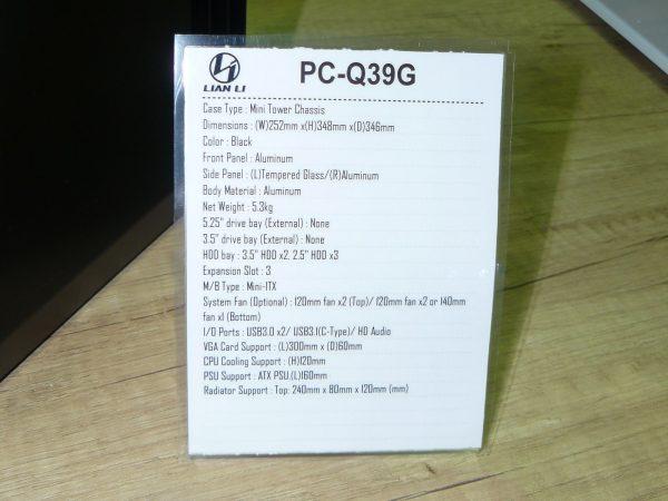 Lian Li PC-Q39G Daten