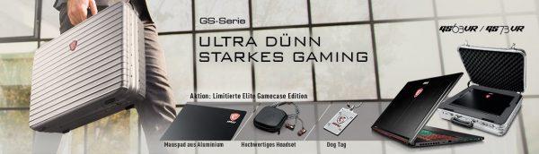 MSI GS Elite Gamecase