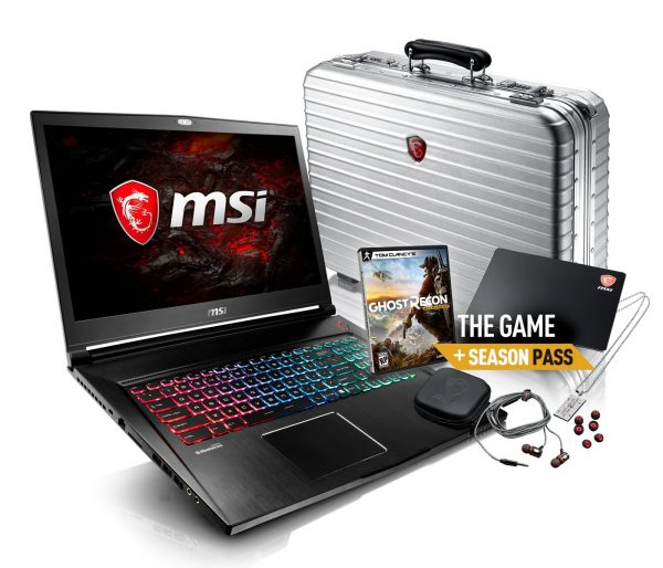 MSI Notebook GS73 Elite Gamecase Edition