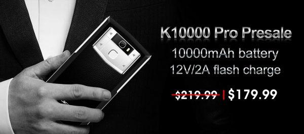 OUKITEL K10000 PRO Presale starts