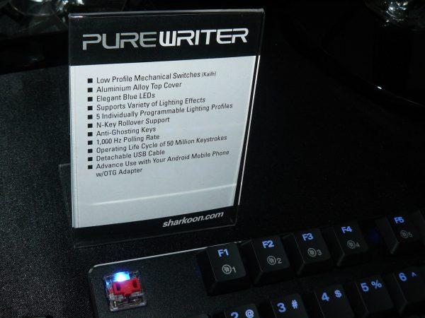 Sharkoon Purewriter Daten