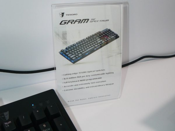 Tesoro GRAM Spectrum SE Daten