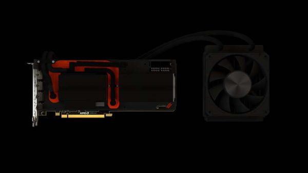AMD Radeon RX Vega 64 LCS ohne Abdeckung