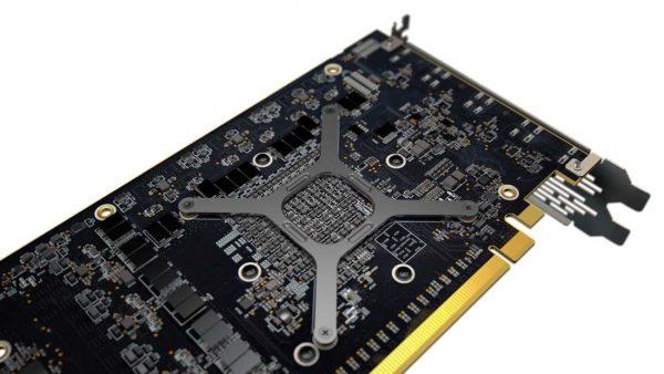 AMD Radeon RX Vega 64 Rückseite schräg