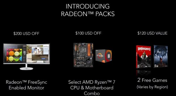 AMD Radeon RX Vega Packs