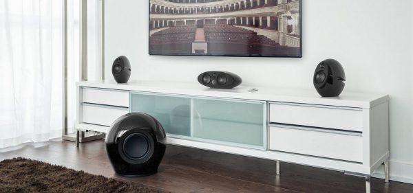 Edifier e255 schwarz Wohnzimmer