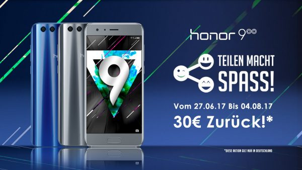 Honor 9 Aktion