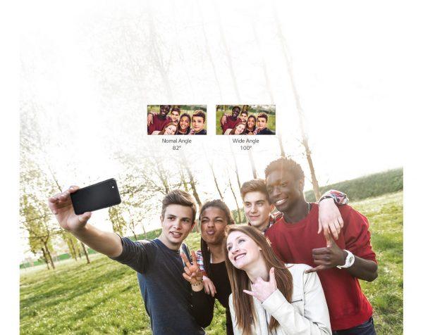 LG Q6 Wide selfie camera