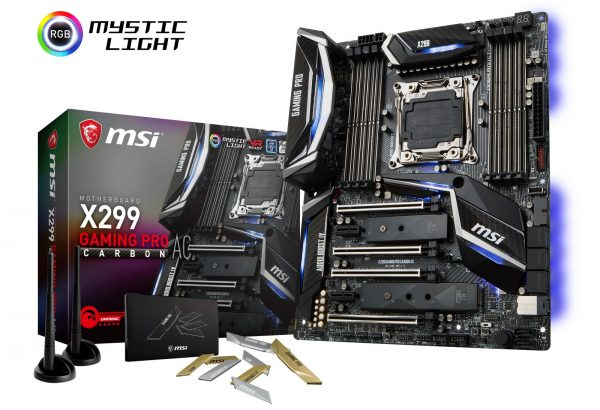 MSI X299 Gaming Pro Carbon ACK