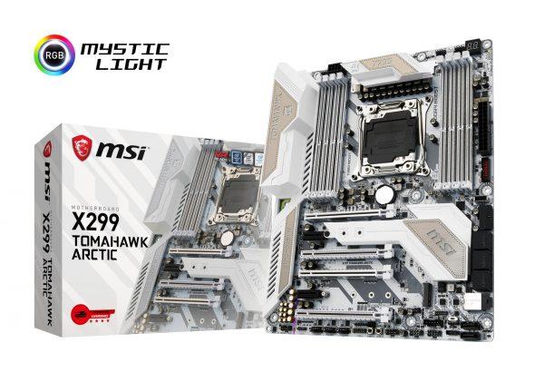 MSI X299 Tomahawk Arctic