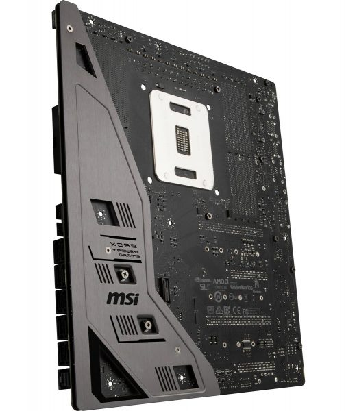 MSI X299 Xpower Gaming AC unten