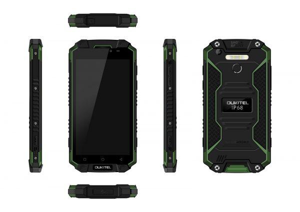 Oukitel K10000 MAX Green