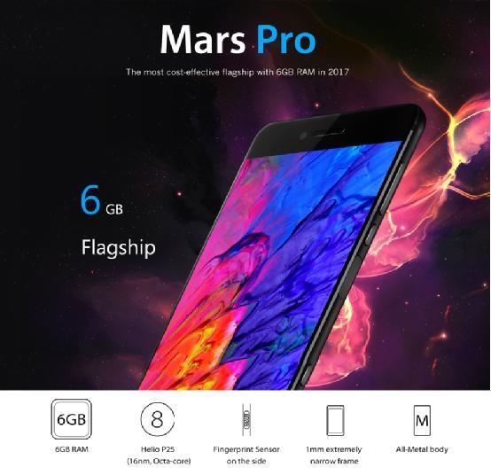 Vernee Mars Pro 6GB flagship