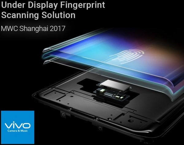 Vivo Prototyp Display-Fingerprintsensor