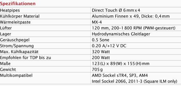 Arctic Freezer 33 TR Specs