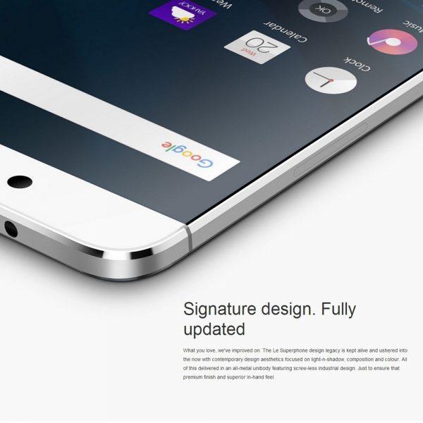LeEco Le 2 X520 Design