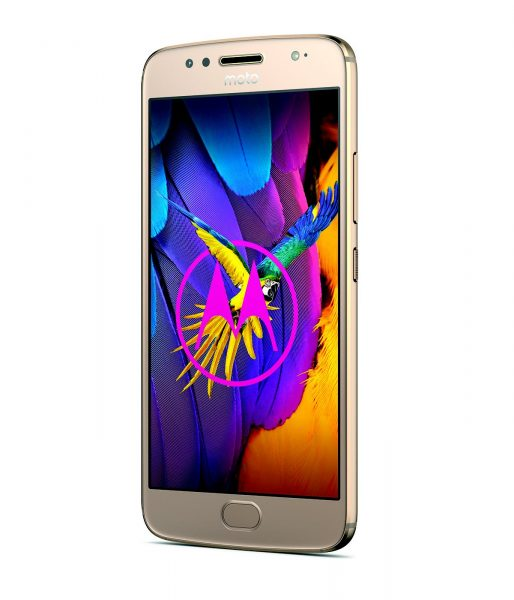 Moto G5S Fine Gold rechts