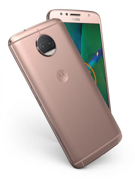 Moto G5S Plus Blush Gold