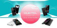 OUKITEL brand flash sale on Gearbest