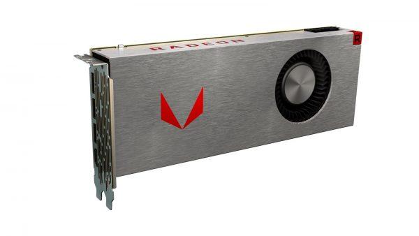Radeon RX Vega Silver AirCooled Front