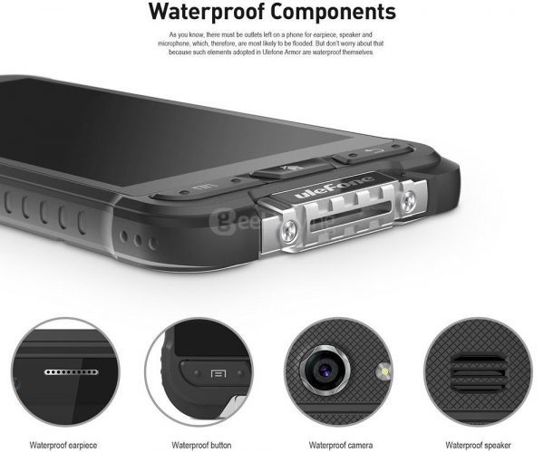 Ulefone Armor Waterproof Components